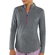 Jofit Women's Scallop ½ -Zip Golf Pullover