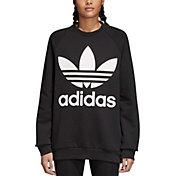 adidas Originals Women's Oversized Trefoil Crewneck Sweatshirt