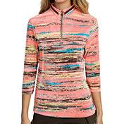 Jamie Sadock Women's Crunch 3/4-Sleeve Golf Polo
