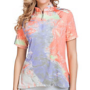 Jamie Sadock Women's Lava Golf Polo