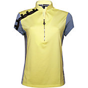 Jamie Sadock Women's Zipper Golf Top