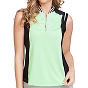 Jamie Sadock Women's Viva Sleeveless Golf Top