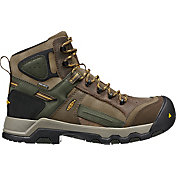 KEEN Men's Davenport Mid AL Waterproof Composite Toe Work Boots