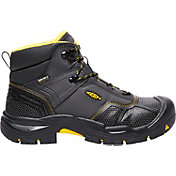 KEEN Men's Logandale Waterproof Steel Toe Work Boots