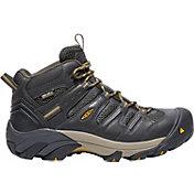 KEEN Men's Lansing Mid Waterproof Steel Toe Work Boots