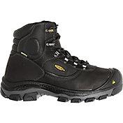 KEEN Men's Leavenworth 6'' Internal Met Steel Toe Work Boots