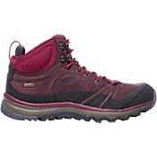 KEEN Women's Terradora Leather Mid Waterproof Hiking Boots