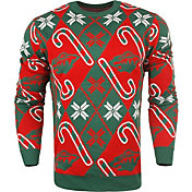 KLEW Men's Minnesota Wild Candy Cane Ugly Sweater
