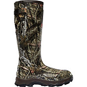 LaCrosse Men's 4XBurly 800g Mossy Oak Rubber Hunting Boots