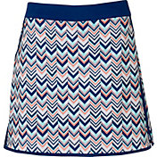 Lady Hagen Women's Calypso Mini Chevron Golf Skort