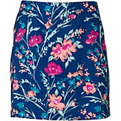 Lady Hagen Women's Calypso Floral Printed Golf Skort – Extended Sizes