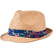 Lady Hagen Women's Calypso Collection Floral Print Straw Golf Fedora