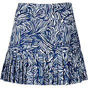 Lady Hagen Women's Paradise Found Pleated Golf Skort