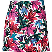 Lady Hagen Women's Paradise Found Floral Printed Golf Skort - Extended Sizes