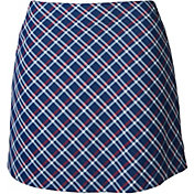 Lady Hagen Women's USA Plaid Golf Skort