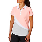Lady Hagen Women's Serenity Collection Colorblock Short Sleeve Golf Polo