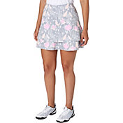 Lady Hagen Serenity Collection Floral Printed Tiered Skort
