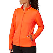 Lady Hagen Women's Textured Long Sleeve Full Zip Golf Jacket