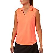 Lady Hagen Women's Essentials Sleeveless Golf Polo – Plus Size