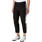 Lady Hagen Women's Vintage Collection Side Stripe Pull On Golf Ankle Pants