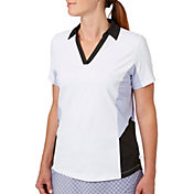 Lady Hagen Women's Vintage Collection Colorblock Golf Polo