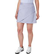 Lady Hagen Women's Vintage Collection Windowpane Layered Golf Skort
