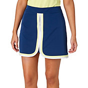 Lady Hagen Women's Watercolor Collection Colorblock Golf Skort