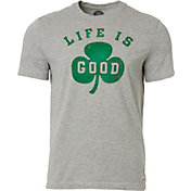 Life is Good Men's Shamrock Crusher T-Shirt