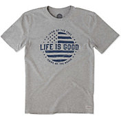 Life is Good Men's Land of The Free Crusher T-Shirt