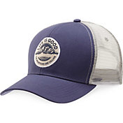 Life is Good Men's Mountain Hard Mesh Back Chill Trucker Hat