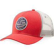 Life is Good Men's Flag Chill Trucker Hat