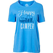 Life is Good Women's Happy Camper Crusher T-Shirt