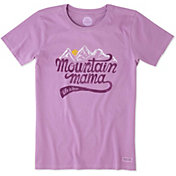 Life is Good Women's Mountain Mama Crusher T-Shirt