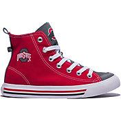 Skicks Ohio State Buckeyes High Top Sneaker