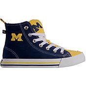 Skicks Michigan Wolverines High Top Sneaker