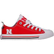Skicks Nebraska Cornhuskers Low Top Sneaker