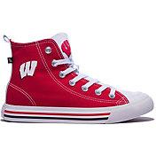 Skicks Wisconsin Badgers High Top Sneaker