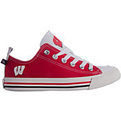 Skicks Wisconsin Badgers Low Top Sneaker