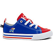 Skicks Kansas Jayhawks Youth Low Top Sneaker