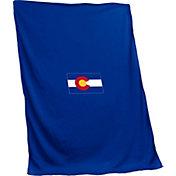 Logo State of Colorado Flag Sweatshirt Blanket