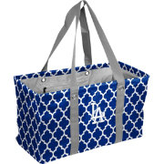 Los Angeles Dodgers Quatrefoil Picnic Caddy