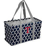Texas Rangers Quatrefoil Picnic Caddy