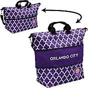 Orlando City Quatrefoil Expandable Tote