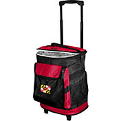 Logo State of Maryland Flag Rolling Cooler