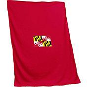 Logo State of Maryland Flag Sweatshirt Blanket