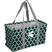 Michigan State Spartans Quatrefoil Picnic Caddy