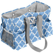 North Carolina Tar Heels Quatrefoil Junior Caddy