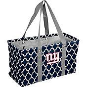 New York Giants Quatrefoil Picnic Caddy