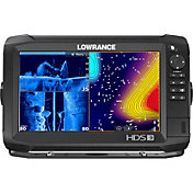 Lowrance HDS-9 Carbon Fish Finder / Chartplotter Combo with TotalScan Transducer