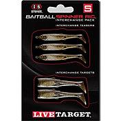 LIVETARGET BaitBall Spinner Rig Tail Interchangeable Pack